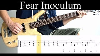 Download Fear Inoculum (Tool) - Bass Cover (With Tabs) by Leo Düzey Mp3 and Videos
