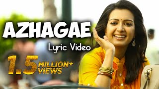 Azhagae Lyric Video | Kathakali | Vishal, Hiphop Tamizha