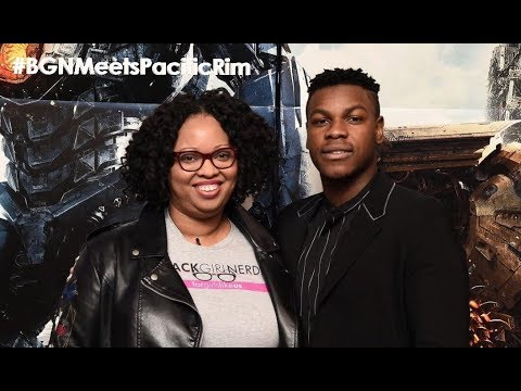 BGN Q&A with John Boyega #BGNMeetsPacificRim