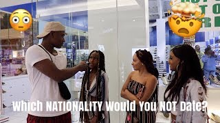 What NATIONALITY Would You NOT Date?🤯 | Public Interview