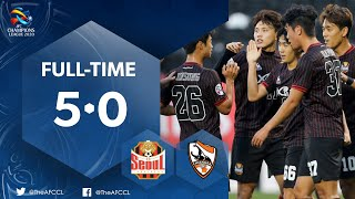 #ACL2020 : FC SEOUL (KOR) vs CHIANGRAI UNITED (THA) : Highlights