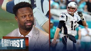 Bart Scott on Warren Moon's comments about Tom Brady, Steelers - Patriots | NFL | FIRST THINGS FIRST