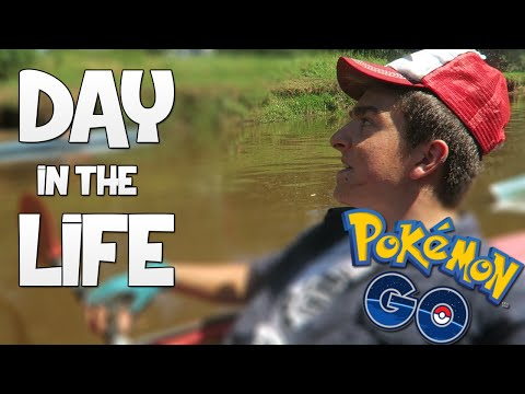 Day In The Life of a Pokemon GO Player!
