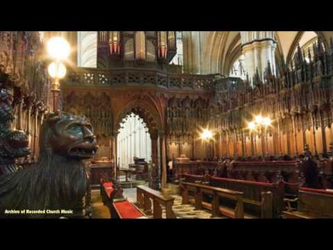 BBC Choral Evensong: Beverley Minster 1974 (Alan Spedding)