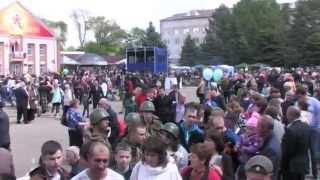 70 лет Победы в Великой Отечественной войне. 9 мая 2015 г. г. Изобильный, Ставропольский край