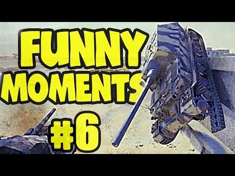 Wot Funny Moments #6 World Of Tanks FAILS & WINS