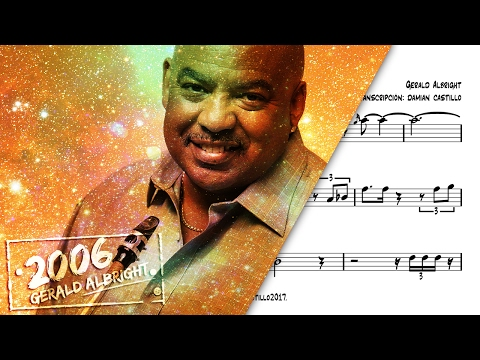 """Georgia On My Mind"" - Gerald Albright - 🎷Sax Alto transcription🎷"