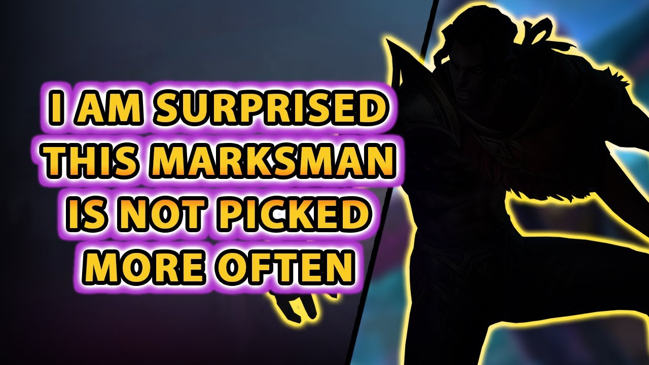 I Am Surprised This Solid Marksman Is Not Picked More Often   Mobile Legends