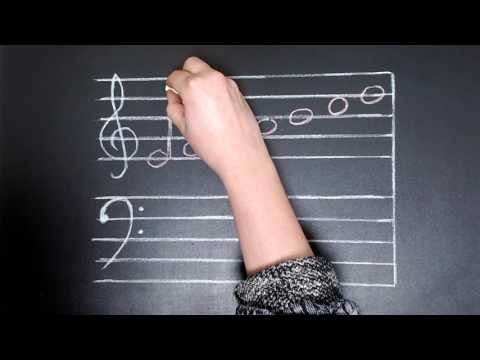 Understanding and drawing note stems in music theory