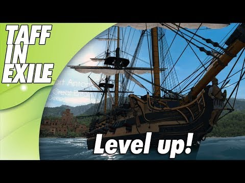 Naval Action | Early Access | Searching Shipwrecks and lvl up!