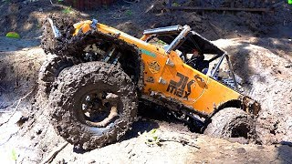 REALISTIC 13lb ALL-METAL JEEP In the MUD! CAPO JK MAX - Backyard Scale Park | RC ADVENTURES