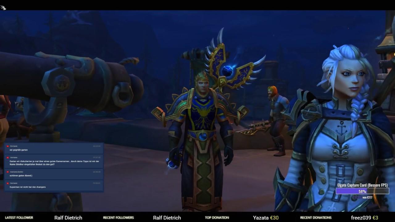 WoW Battle for Azeroth [098] Kriegskampagne Angelpunktwerft fertig - World  of Warcraft Gameplay