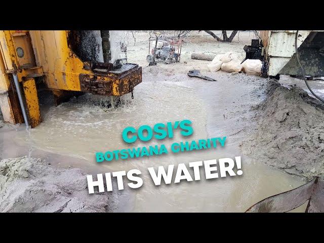 Cosi's Botswana Charity Hits Water | Bec Cosi & Lehmo