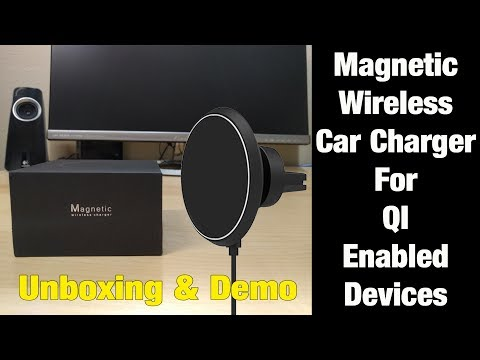 Neotrix Magnetic Wireless Car Charger Review - Galaxy S8 & Qi Devices