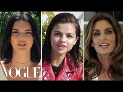 Kendall Jenner, Selena Gomez, Cindy Crawford, and More Discuss Their First Vogue Covers | Vogue