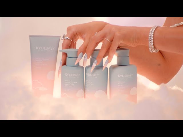 KYLIE BABY: Introducing My Kylie Baby Gentle Shampoo and Conditioner