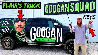 STEALING FLAIR'S TRUCK to go FROG Fishing (He Got PISSED!)