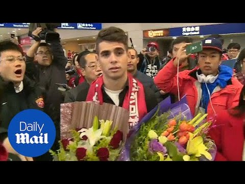 Brazil's Oscar at Shanghai to join Chinese club Shanghai SIPG - Daily Mail