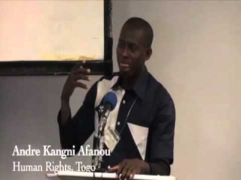 Re-colonization of Africa - Speaker Andre Kangni Afanou