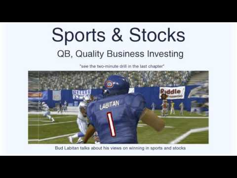 Sports & Stocks - a book about winning in sports and high quality business investing