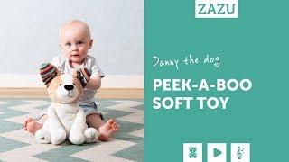 Video: Zazu Danny Peek-a-Boo Soft Toy