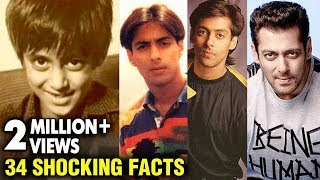 SHOCKING Salman Khan UNKNOWN And Interesting Facts | Happy Birthday Salman Khan