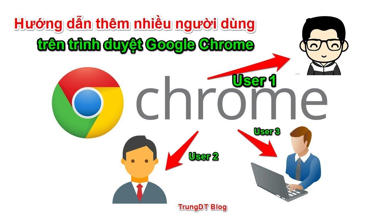 Hướng dẫn thêm người dùng trên trình duyệt Google Chrome | Quản lý mail hiệu quả