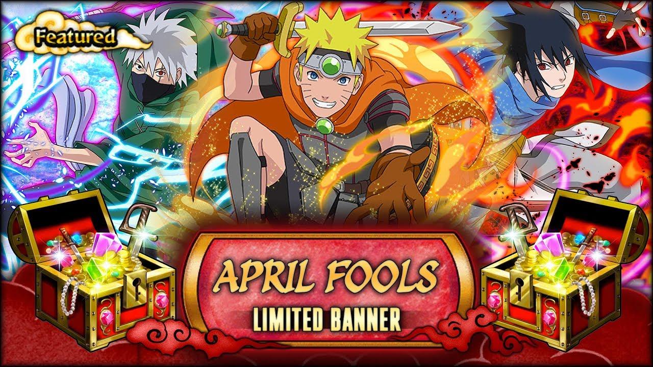 10 MULTIS! APRIL FOOL BANNER SUMMONS!   Naruto Shippuden Ultimate Ninja Blazing - YouTube
