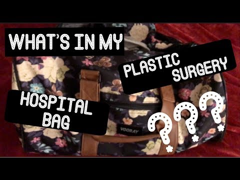 What's in my Plastic Surgery Hospital Bag?? || Skin Removal Surgery!