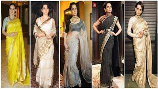 kangana ranaut saree collection/kangana ranaut dressing style  By girls fashion trend