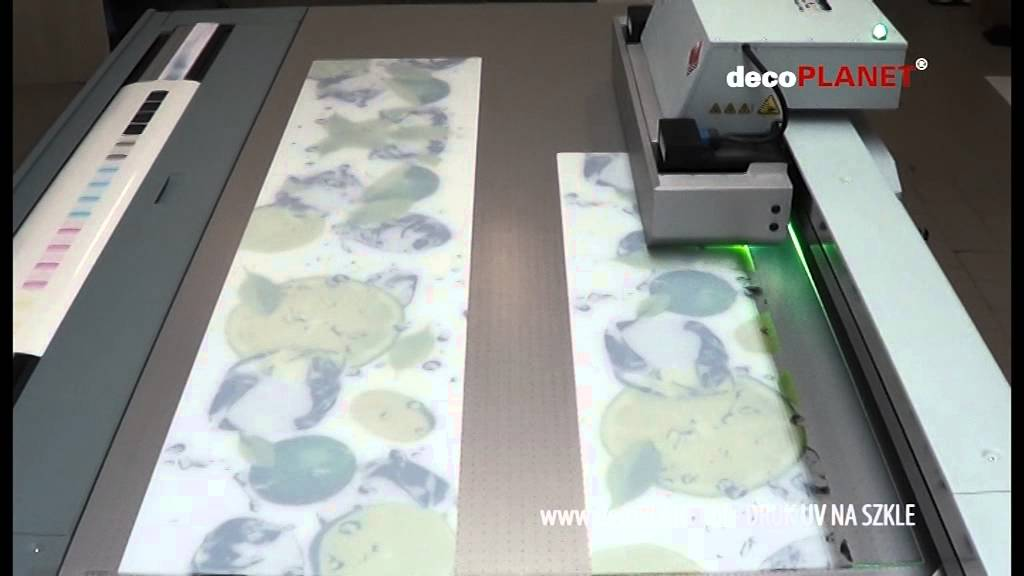 Nowoczesna architektura Bezpośredni druk na szkle - Druk UV na szkle - Panele szklane WH26