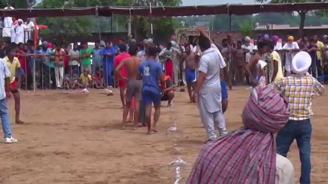 JANETPURA (Jagraon) ! 2nd. NAHAR SINGH JI MEMORIAL KABADDI TOURNAMENT-2015 ! 65 KgS! HD ! 2nd.