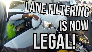 """""""We Welcome You To Join Us"""" - Lane Filtering Now Legal in QLD"""