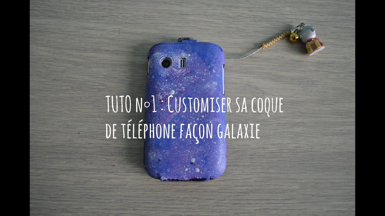 tuto n 1 d i y customiser sa coque de t l phone fa on galaxy youtube. Black Bedroom Furniture Sets. Home Design Ideas