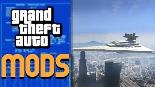 STAR WARS in GTA 5! Mod Gameplay!