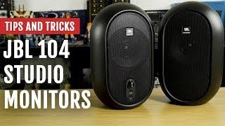 JBL 104 Studio Monitors | Review | Tips and Tricks