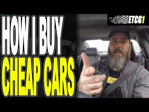 How I Buy Cheap Cars