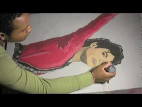 Michael Jackson Timelapse (JD ART)