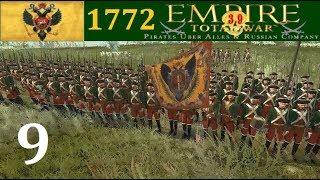 Россия 1772 #9 Empire Total War Pirates Uber Alles max