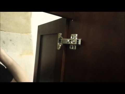 How to Adjust Cabinet Door Hinges