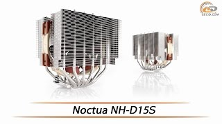 Noctua NH-D15S - видеообзор CPU кулера(Актуальные цены Noctua NH-D15S - http://gecid.com/a/pst2s3qkklaza6w «Один вентилятор хорошо, а два – еще лучше». В чем-то действите..., 2015-08-07T05:30:01.000Z)