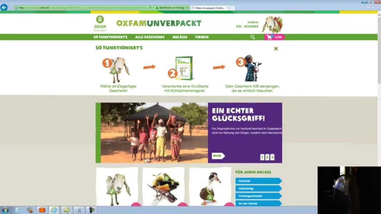 Oxfam unverpackt eine idee wo sich das spenden lohnt for Oxfam spenden