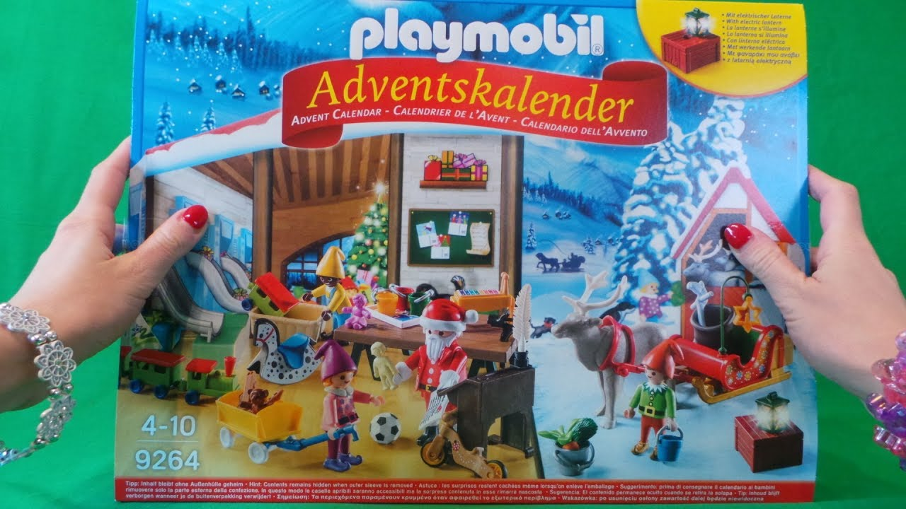 playmobil toy advent calendar bonanza opening youtube. Black Bedroom Furniture Sets. Home Design Ideas
