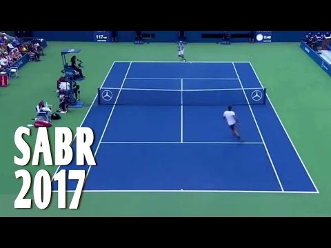 Roger Federer: A Collection of SABR in 2017 (SABR = Sneak Attack By Roger)