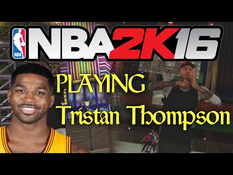 nba-2k16-mypark---playing-with-tristan-thompson!?-patch-3-is-good?-#cavs-#uncledrew
