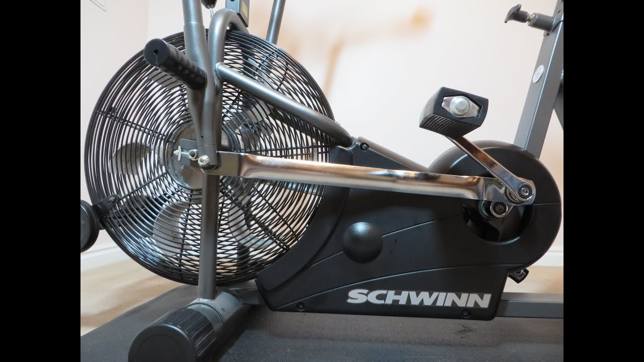 Airdyne Replacement Parts : Schwinn airdyne loose pedal crank repair fix bottom