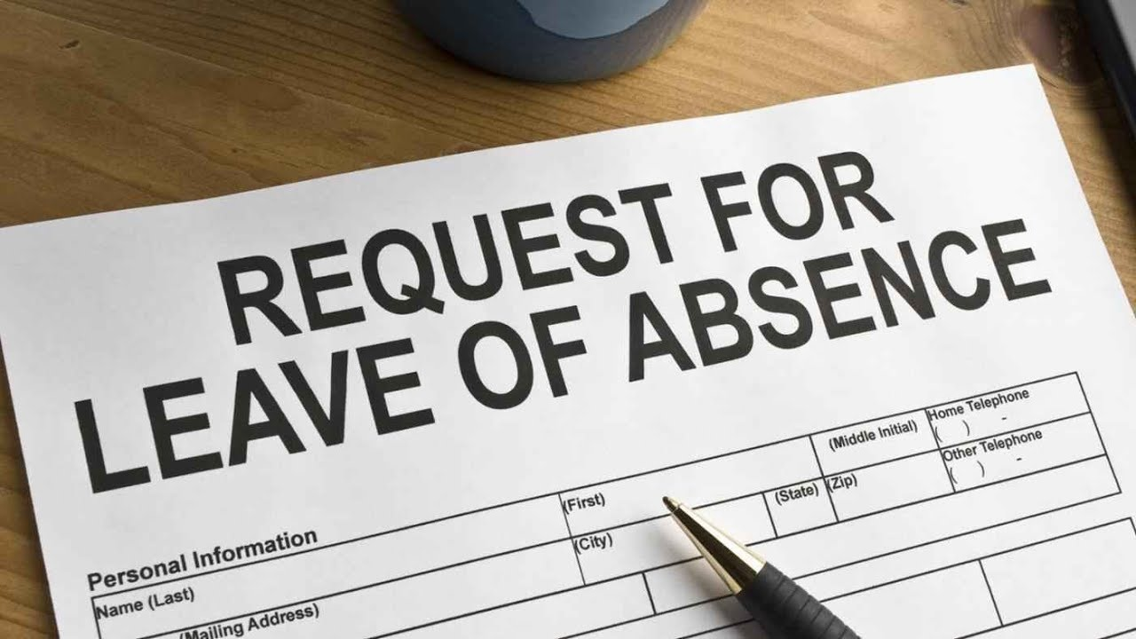 how to write an application for a leave of absence