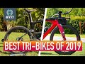 GTN's Best Pro Triathlon Bikes Of 2019!