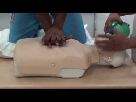 adult BLS BY 2 PERSON (RESCUER)