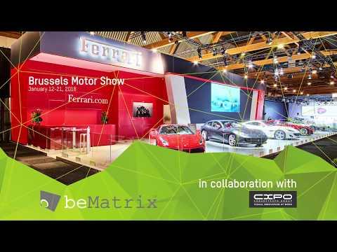 beMatrix  - Ferrari @ Brussels Motor Show 2018